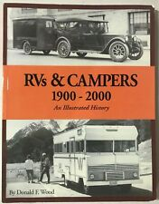 An Illustrated History: Rvs and Campers, 1900-2000 by Donald F. Wood (2002)📖🆕