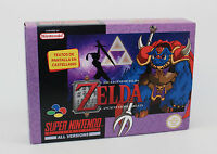 ZELDA ANCIENT STONE TABLET  SUPER NINTENDO SNES PAL NTSC