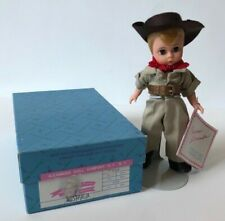 "Madame Alexander Doll 8"" International Australia 504 with Box Tags Stand"