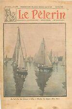 Yacht Racing Bol d'Or Course Bateaux à Voiles la Seine Meulan-en-Yvelines 1930
