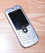 Motorola SLVR L2 - Silver (Cingular) 10MB GSM Cellular Bar Phone **READ**