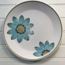 Noritake Progression Up Sa Daisy Salad Plate Blue Flowers Vintage Japan