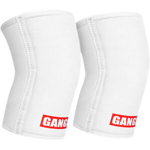Sling Shot Gangsta Knee Sleeves by Mark Bell - White