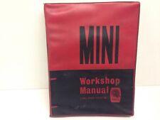 BMC Mini Genuine Factory Workshop Manuale Di Servizio Austin Morris Saloon Van 1966