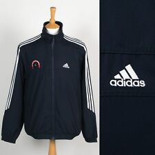 MENS ADIDAS FOOTBALL IN THE COMMUNITY RETRO TRACKSUIT TOP TRAINING JACKET M