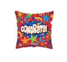 Foil Balloons Congrats Stars & Ribbon