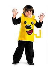 WoW WoW Wubbzy Boys or Girls Yellow Halloween Costume Size 2T NIP