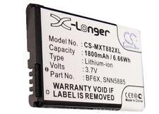 BF6X  SNN5885  Battery for Motorola XT882  Droid 3  XT862  Milestone 3   XT883