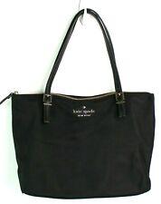 kate spade watson lane maya black purse tote handbag 2 shoulder straps zip