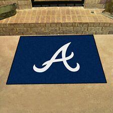 """Atlanta Braves 34"""" x 43"""" All Star Area Rug Floor Mat"""