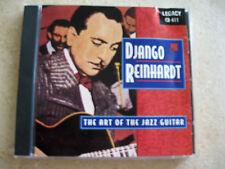 Django Reinhardt - The Art of Jazz Guitar, Live in Paris (1947) Rare Imported CD