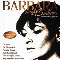 BARBARA-BARBARA SINGT BARBARA IN DEUTSCHER SPRACHE;CD 20 TRACKS DEUTSCH-POP NEU