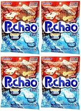 4 BAGS UHA Mikakuto Japan Puccho Puchao Chewy Candy Cola Ramune Soda 3.52 oz