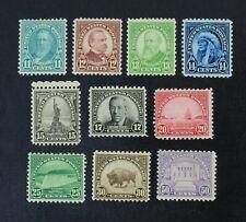 Ckstamps: Us Stamps Collection Scott#692-701 Mint H Og #696 #698 Spot Thin