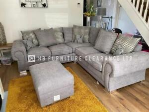 VENEZIA 2C2 CORNER SOFA - BRAND NEW - GREY OR MINK