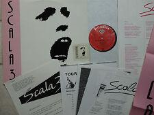SCALA 3 – Gefühl und Härte  LP mit Poster und vielen Promo Beilagen  Telefunken