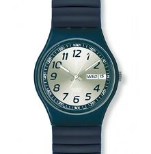 "SWATCH GENT FLEX ""BACK IN BLUE, Bandlänge: Small"" (GN716B) NEU, SELTEN"