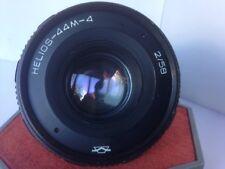 HELIOS 44m-4 2/58mm Soviet Russian Lens M42 Full Frame Digital Camera