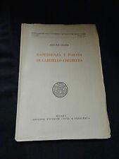 Esperienza e poesia di Gabriello Chiabrera – Enzo Noè Girardi – Milano 1950