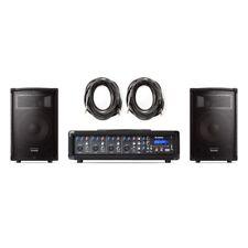 Alesis PA System In A Box 280W USB/SD DJ Disco PA Speaker System Inc Warranty