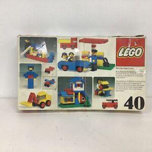 Vintage 1976 LEGO 40 Universal Building Set Original Box #331