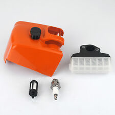 For Stihl 021 025 MS230 MS210 MS250 Chainsaw Air Fuel Filter & Cover Spark plug