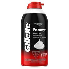 Gillette Foamy Men's Regular Shave Foam 11 Oz