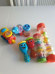 Baby Rattles Bundle 7 Sensory Interactive Toys