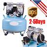 Portable Dental Medical Air Compressor Silent Quiet Noiseless Oil Free Oilless