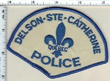 Delson-Ste-Catherine Police (Canada) Shoulder Patch from the Early 1980's