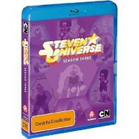 STEVEN UNIVERSE - SEASON 3  - Sealed Region B & for UK