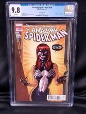 AMAZING SPIDER-MAN #678 3/2012 9.8 NM/M MARVEL Comic Book VENOM VARIANT COVER