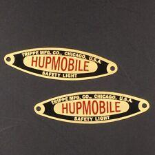 Hupmobile Trippe Light Badges