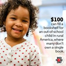 $100 Charitable Donation For: Filling a Bookshelf in Rural America