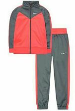 NEW Girls Nike 2-Piece Track Warm-Up Suit, Cool Grey Size 6X - SRP $56