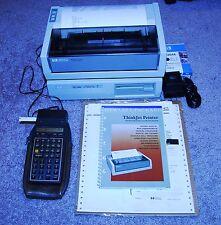 HP 41CX Calculator w/ Card Reader, HP 82160A, HP 9114B HP ThinkJet Excellent