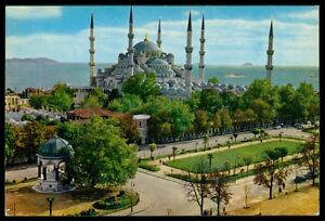 AK TURKEY ISTANBUL MOSQUEE MOSQUE MOSCHEE ISLAM POSTCARD PC aw31
