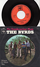 THE BYRDS - MR. TAMBOURINE MAN Megarare 1965 german MISSPELLED Cover Single!