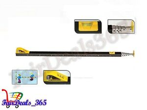 TELESCOPIC MEASURING ROD STICK-5 METER HEAVY DUTY FOR ACCURATE MEASUREMENT