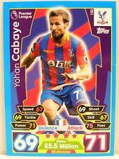 Match Attax 2017/18 Premier League - #102 Yohan Cabaye - Crystal Palace FC