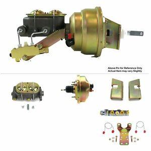 "1963-66 Chevy Truck FW Mount Power 8"" Single Brake Booster Kit Disc/Disc LS Swap"