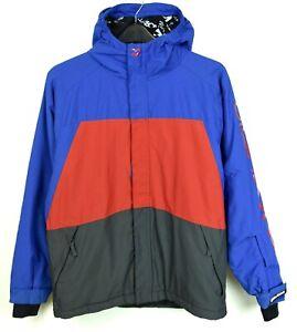 Billabong Ski Jacket 8000 mm 16 Years Teen's 2XL Hooded Snowboard Coat 8K RA14