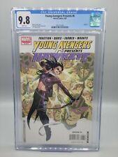 Young Avengers Presents #6 CGC 9.8 Kate Bishop Clint Barton 1st meet Disney+ MCU