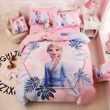 Frozen Elsa Queen Bed Quilt Cover Set