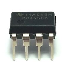 20PCS Texas Instruments RC4558P RC4558 Dual Operational Amplifier DIP-8 New IC