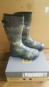 Lacrosse Alphaburly Pro 800G Boot Optifade Waterfowl Timber Mens Size 13