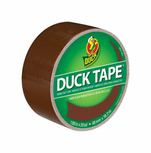 Duck  1.88 in. W x 20 yd. L Brown  Duct Tape