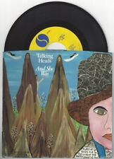 "Talking Heads ""And She Was"" 7"" NM Orig OOP David Byrne St. Vincent Brian Eno"