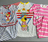 Vintage 80s Girls Childrens Size 12 Lot of 3 Pajama Sets 1980s Deadstock Pajamas