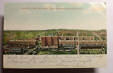NATIONAL CASH REGISTER PLANT  POSTCARD DAYTON OHIO  EARLY 1900 #1166a